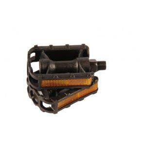 Volare Fietspedalen 2 stuks Voor 12 inch kinderfietsen Zwart Trappers
