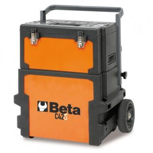 Beta gereedschapstrolley met 2 compartimenten