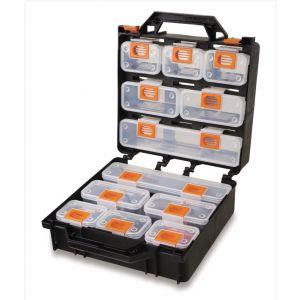 Beta gereedschapskoffer met 12 losse doosjes