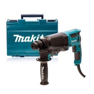 Makita HR2630T SDS-PLUS boor- en combihamer in koffer 230V