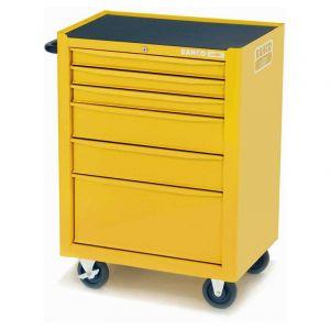 Bahco gereedschapswagen leeg 6 lades geel