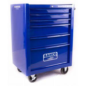 Bahco gereedschapswagen leeg 6 lades blauw