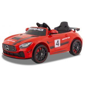Mercedes elektrische kinderauto GT4 rood