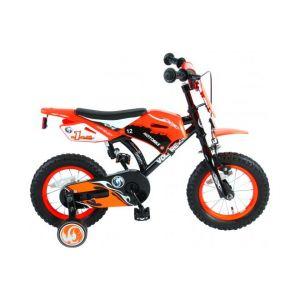Volare Motorbike Kinderfiets Jongens 12 inch Oranje 95% afgemonteerd