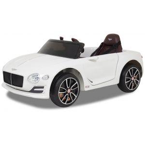 Bentley elektrische kinderauto Continental wit