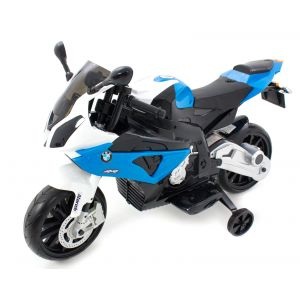 BMW elektrische kindermotor S1000 blauw