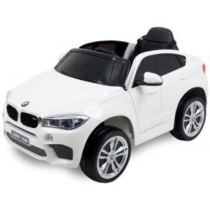 BMW elektrische kinderauto X6 wit