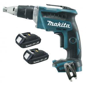 Makita DFS452RAJ 18V accu schroefmachine 2x 2.0Ah in Mbox