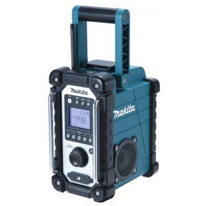 Makita DMR107 10,8 - 18V accu / netstroom bouwradio zonder accu's en lader