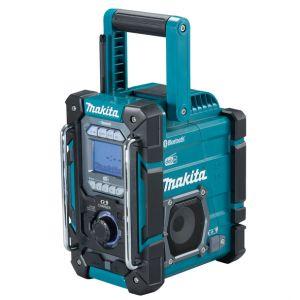 Makita DMR301 12 - 18V accu / netstroom bouwradio met laadfunctie zonder accu's en lader