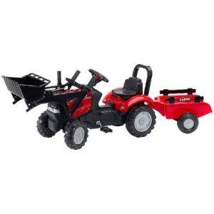 Falk tractor loopauto met pedalen 'case'
