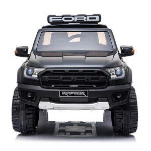 Politie Ford elektrische kinderauto Raptor zwart