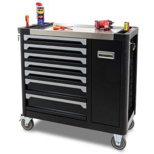 Ragnor gereedschapswagen met extra compartiment 'Fandral' zwart