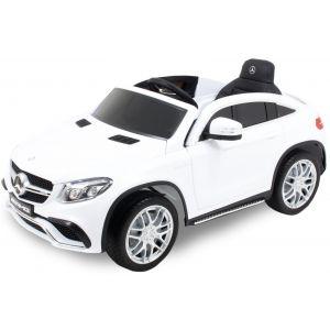 Mercedes elektrische kinderauto GLE63 AMG wit