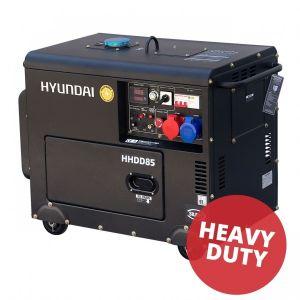 Hyundai generator op diesel HDG88 - Heavy duty