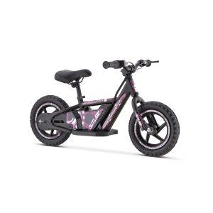 "Outlaw elektrische loopfiets 24V lithium met 12"" wielen - roze"