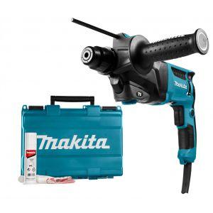 Makita HR2600 SDS-PLUS boor- en combihamer in koffer 230V