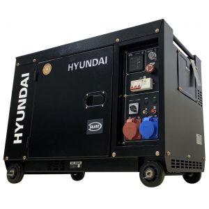 Hyundai generator Heavy Duty HDG12 diesel 7,5KVA