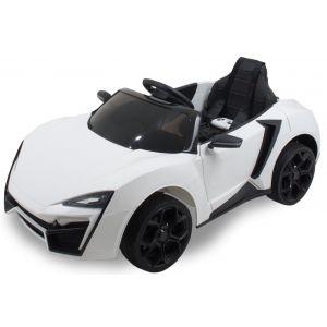 Kijana elektrische kinderauto Spider wit
