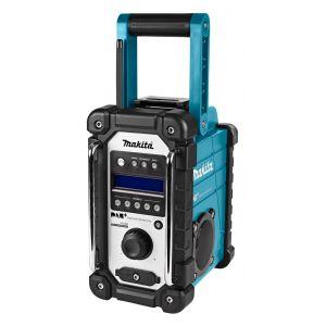 Makita DMR110 10,8 - 18V accu / netstroom bouwradio zonder accu's en lader