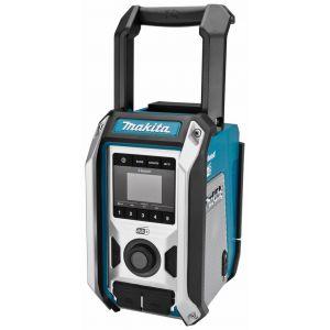 Makita DMR115 10,8 - 18V accu / netstroom bouwradio zonder accu's en lader