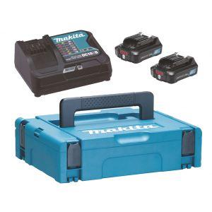 Makita 197658-5 powerpack CXT 12 V Max 2x 2.0 Ah in Mbox