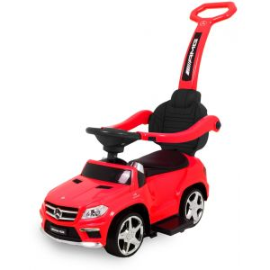 Mercedes loopauto GL63 rood
