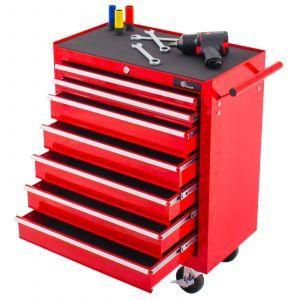 Ragnor gereedschapswagen 'Hela' leeg 7 lades rood