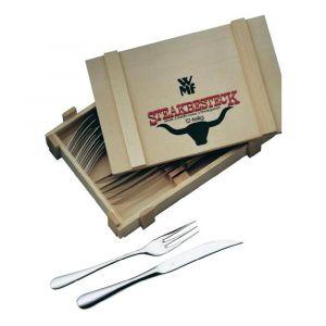 Steakbestek 12-delige set in houten cassette