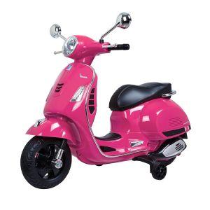 Vespa elektrische kinderscooter GTS roze