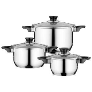 Berghoff 6-delige kookpottenset Gourmet Essentials