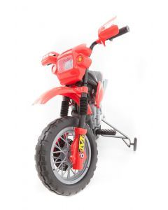 Kijana elektrische crossmotor rood