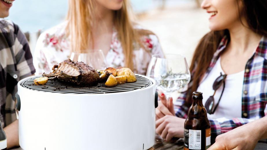 Hoe gebruik je de Berghoff tafelbarbecue?